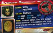 Warpath - Superhuman Registration Act Card Front