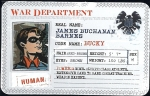 Bucky Barnes - Superhuman Registration Act Card Front