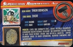 Modern Thor - Superhuman Registration Act Card Front