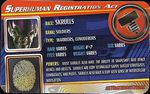 Superhuman Registration Act Card Front - Skrull Soldier