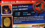 Superhuman Registration Act Card Front - Dark Hawkeye