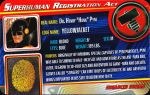 Superhuman Registration Act Card Front - Yellowjacket