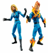 Invisible Woman and Human Torch Two-Pack Group