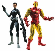 Iron Man and Maria Hill Two-Pack Group