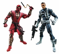 Nick Fury and Hand Ninja Two-Pack Group