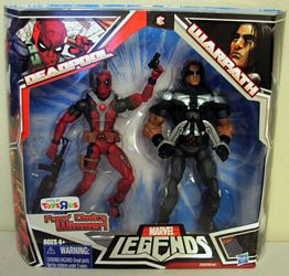Deadpool and Warpath in Package