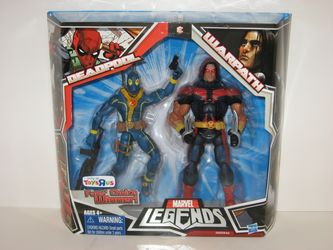 Deadpool and Warpath Variants in Package