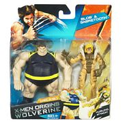 Blob and Sabretooth in package