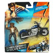 Logan and Motorcycle in package