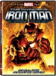 The Invincible Iron Man Animated DVD