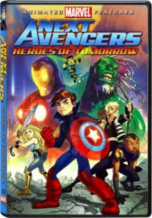 The Next Avengers Animated DVD