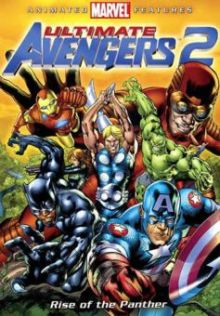 Ultimate Avengers 2 Animated DVD