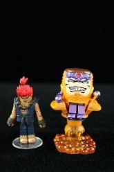 Marvel Vs. Capcom 3 Series 3 Minimates - MODOK and Akuma