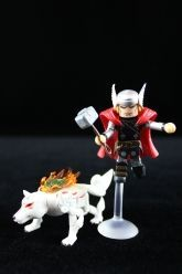 Marvel Vs. Capcom 3 Series 3 Minimates - Thor and Amaterasu