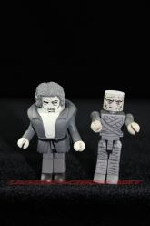 TRU Exclusive Universal Monsters Minimates - Black and White Imhotep and Quasimodo