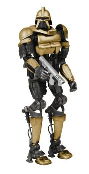 Razor Gold Cylon Commander