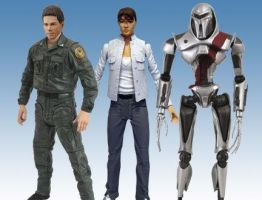 Battlestar Galactica Toys 'R Us Wave Three Group