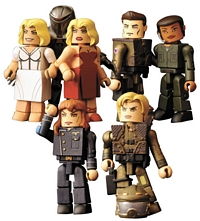 Battlestar Galactica: Minimates - Series One Group