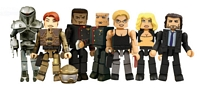 Battlestar Galactica: Minimates - Series Two Group