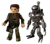 Battlestar Galactica: Minimates - Kat and Mortar Cylon (Previews Exclusive)
