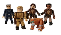 Battlestar Galactica: Minimates - Classic Colonial Warriors Box Set