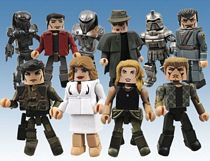 Battlestar Galactica: Minimates - Series Five Group