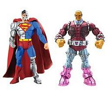 Cyborg Superman and Mongul