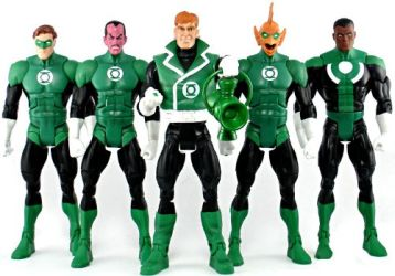 Green Lantern Five Pack Group