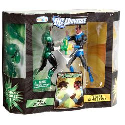 Hal Jordan and Thaal Sinestro Package Side
