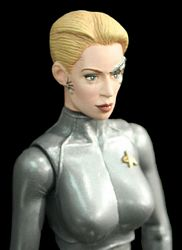 Seven of Nine - Silver Outfit
