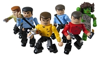 Star Trek The Original Series Minimates Series One Group