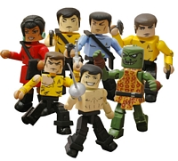 Star Trek The Original Series Minimates Series Two Group