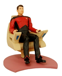 First Season Riker in Chair