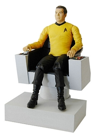 Captain Kirk in Command Chair