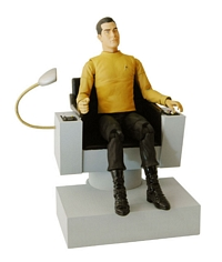 Captain Pike in Command Chair