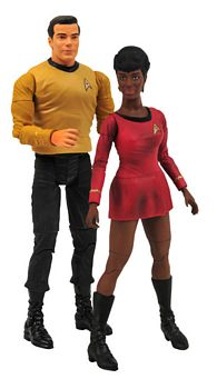 Kirk and Uhura