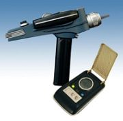 TOS Phaser and Communicator Set