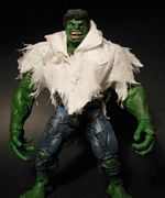 Toy Biz Marvel Legends Series One - The Hulk - Torn Shirt Exclusive