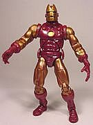 Toy Biz Marvel Legends Series One - Iron Man - Gold Chase Variant