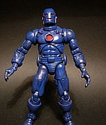 Toy Biz Marvel Legends Series One - Iron Man - Blue Stealth Exclusive