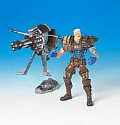 Toy Biz Marvel Legends Series Six - Cable - Brown Variant