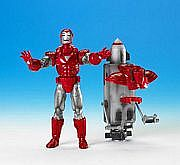 Toy Biz Marvel Legends Series Seven - Iron Man - Silver Centurion Armor