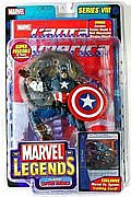 Toy Biz Marvel Legends Series Eight - Classic Captain America Variant