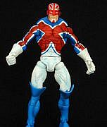 Toy Biz Marvel Legends Giant Man Series - Captain Britain
