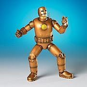 Toy Biz Marvel Legends Series Fourteen - First Appearance Iron Man - Gold Armor Variant