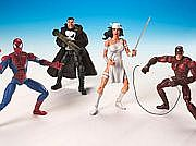 Toy Biz Marvel Legends Urban Legends Box Set Group Shot