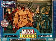 Toy Biz Marvel Legends Fantastic Four Heroes Reborn Box Set