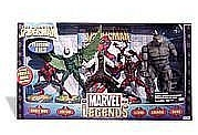 Toy Biz Marvel Legends Fearsome Foes Box Set in package