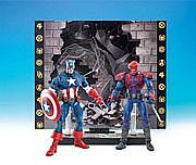 Toy Biz Marvel Legends Face Off - Captain America versus Red Skull