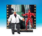 Toy Biz Marvel Legends Face Off - Daredevil versus Kingpin